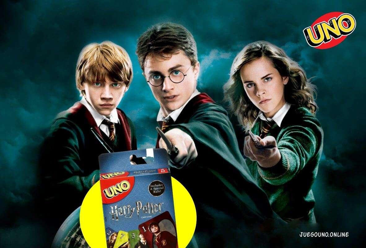 UNO Harry Potter – Reglas del Juego de Cartas